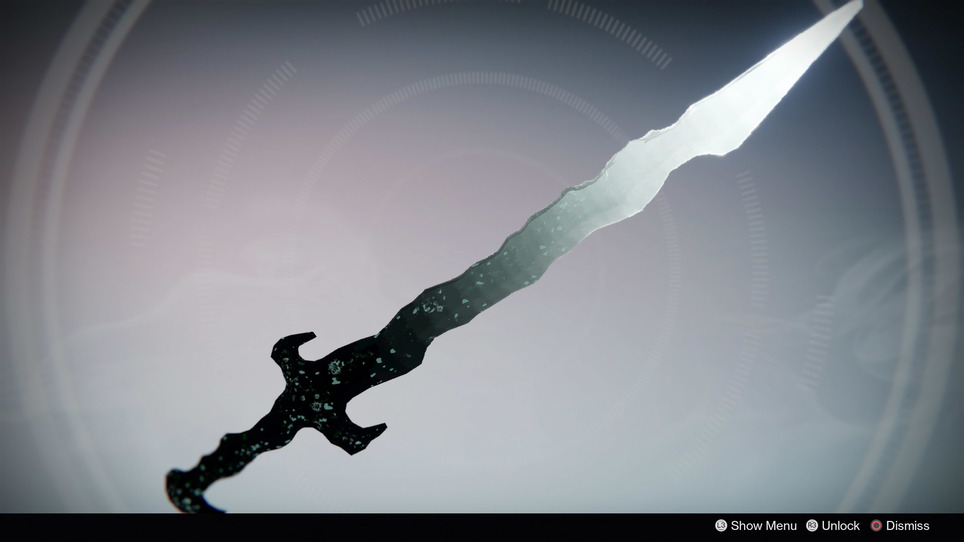Dreadfang sword destiny