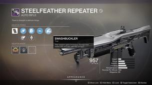 Steelfeather repeater 1200