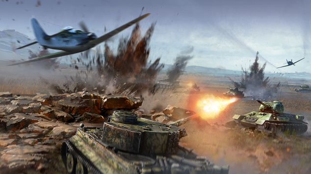 War thunder ground forces launch art