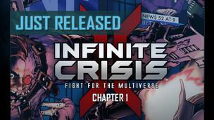 Infinite crisis fight for multiverse