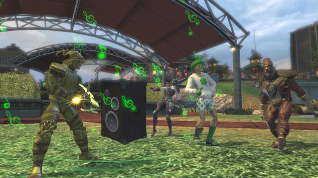 Dcuo st patricks day