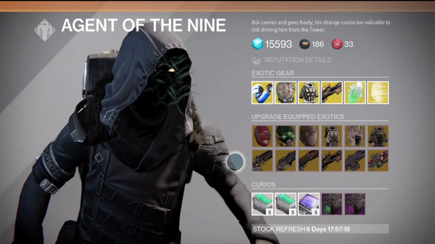 Xur inventory february27 2015