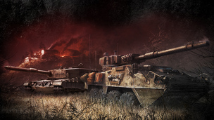 Armored warfare early access test
