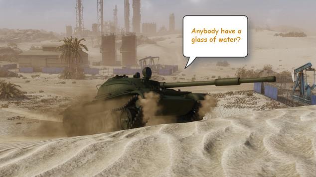 Armored warfare balance