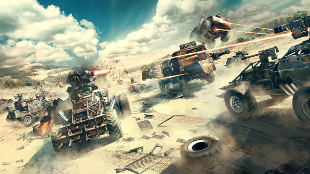 Crossout mmo announced