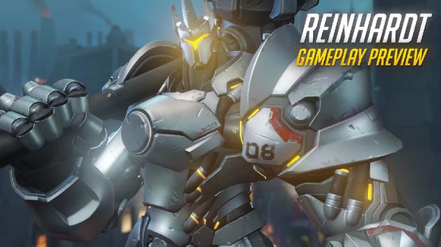 Reinhardt gameplay preview