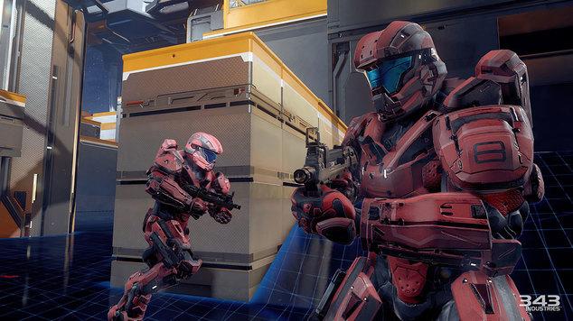 Halo 5 split screen