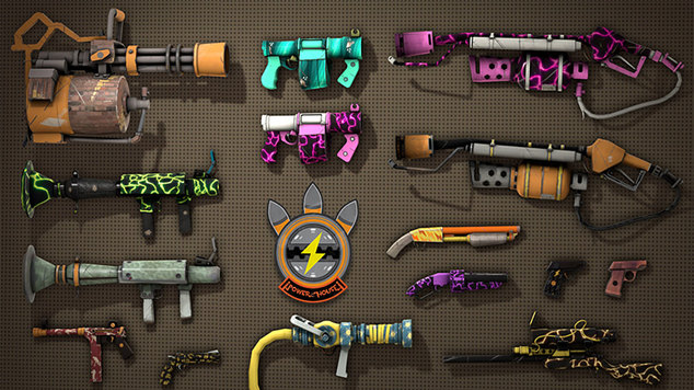 Tf2 weapons gun mettle