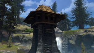 Stronghold siege tower