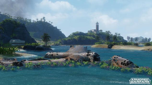 Armored warfare lost island preview