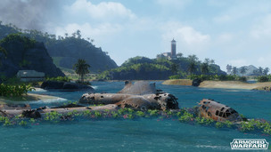 Armored warfare lost island preview