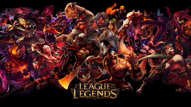 League of legends red title