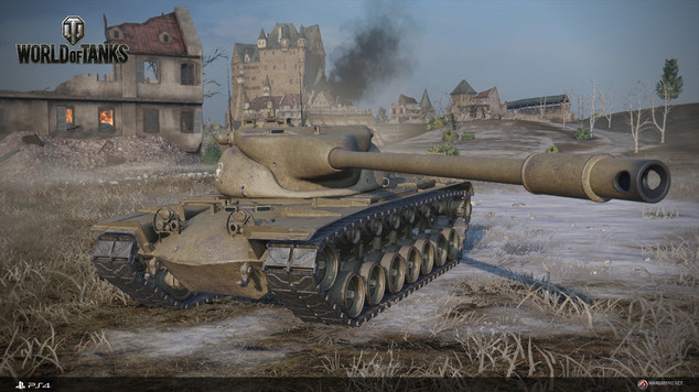 World of tanks ps4 top