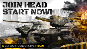 Armored warfare head start