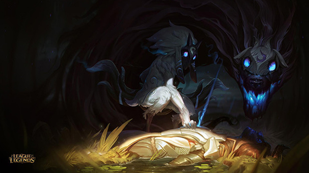Lol kindred title image