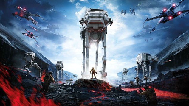 Star wars battlefront cover poster wallpaper hd