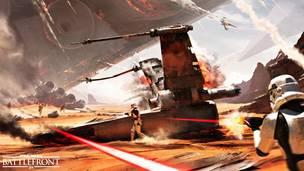 Battle of jakku battlefront 1 2
