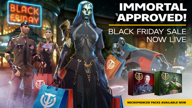 Skyforge black friday necromancer packs