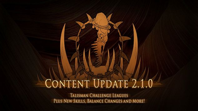 Path of exile update