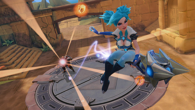 Paladins evie new character patch