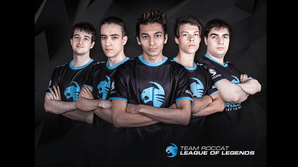 Team roccat new lineup title