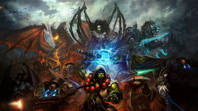 Hots art background title 0