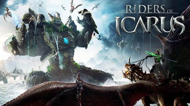 Riders of icarus logo banner