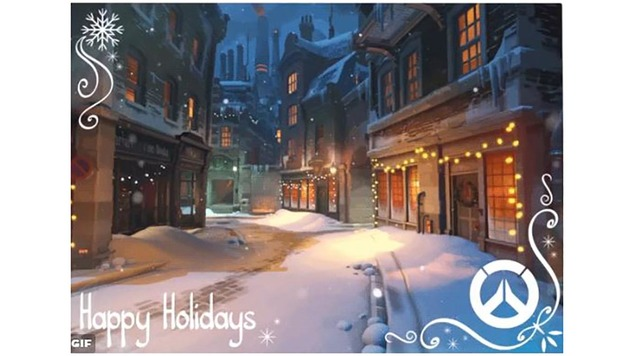 Overwatch holiday2016
