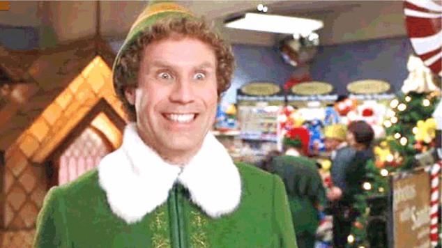 Elf will ferrell smiling will ferrell elf