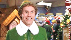 Elf will ferrell smiling will ferrell elf