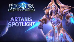 Hots artanis spotlight title